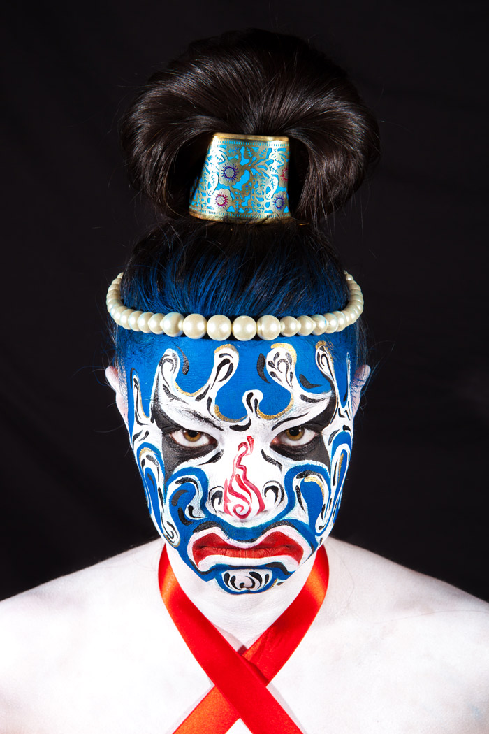 Masque traditionnel Chinois